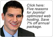Five Reasons For JoeJoomla Web Hosting