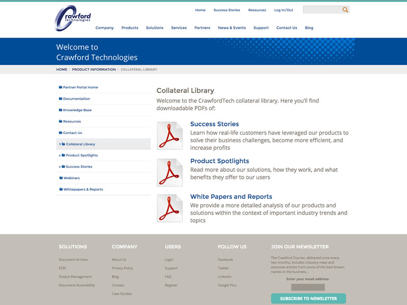CrawfordTech Document Management